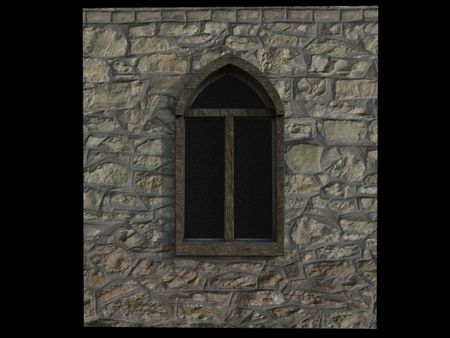 Seamless Cobblestone Wall