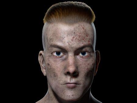 Viking Character Bust