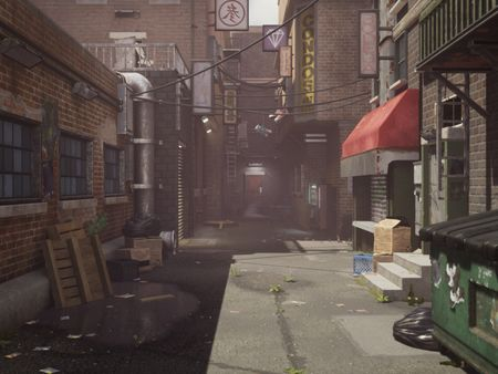 Alleyway | Day and Night