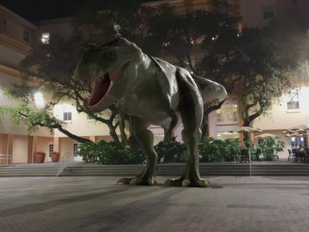T-Rex On Campus