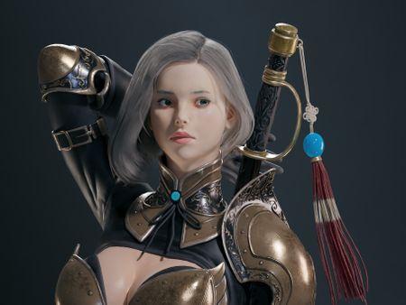 Female Blade Master