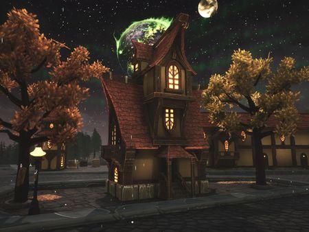 Gilneas - World of Warcraft inspired city