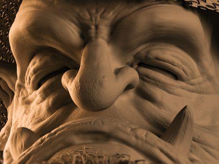 SHAMAN character design and sculpt