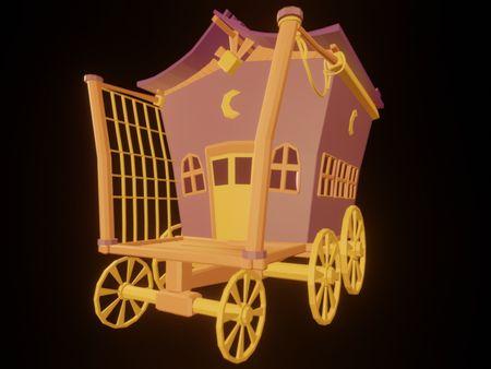 Magicians Cart