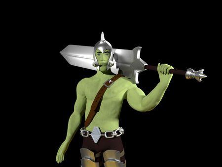 Zargulg - Halfork Warrior