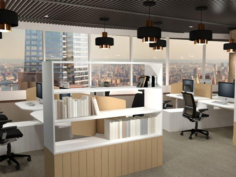 Office Design for Hershey's