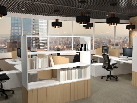 Office Design for Hershey's