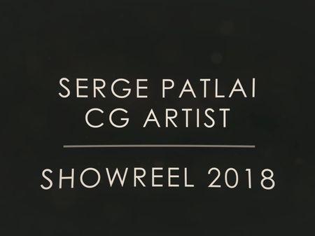 Serge Patlai Showreel 2018