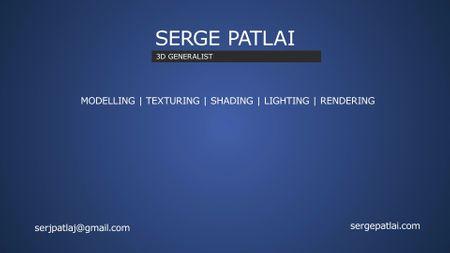 Sergei Patlai 3D generalist showreel 2019