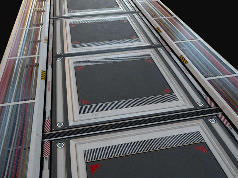 Sci-Fi Modular Floor