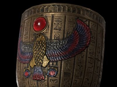 Egyptian Goblet