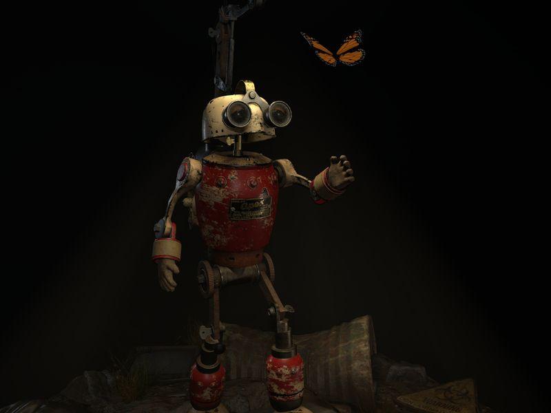 Apex Tinkerbot Diorama