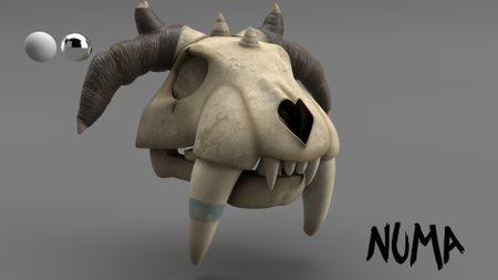 Skull Shading