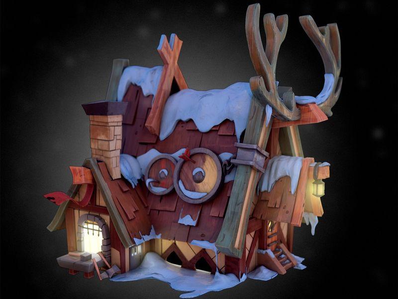 Reindeer blacksmith / Student project