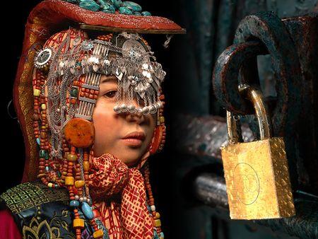 Tibetan girl, Lock door(VFX student reel)