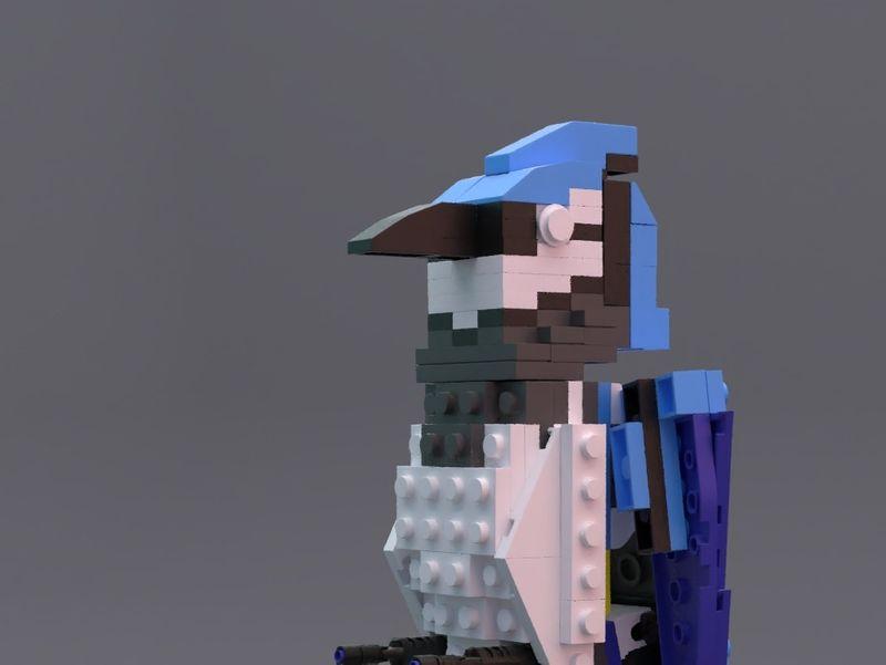 Lego Bird (Bluejay)