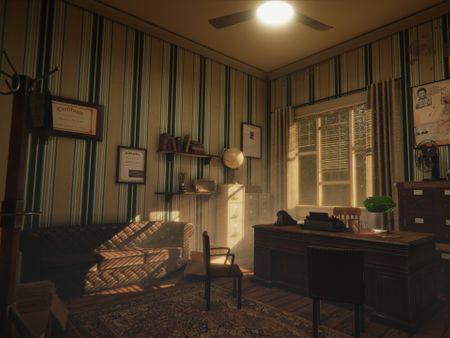 Noir Detectives Office Environment