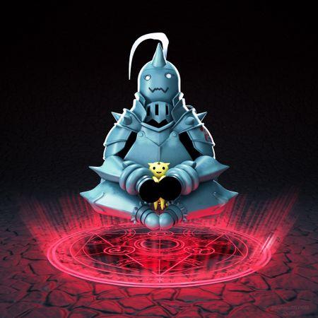 Alphonse-Fullmetal alchemist