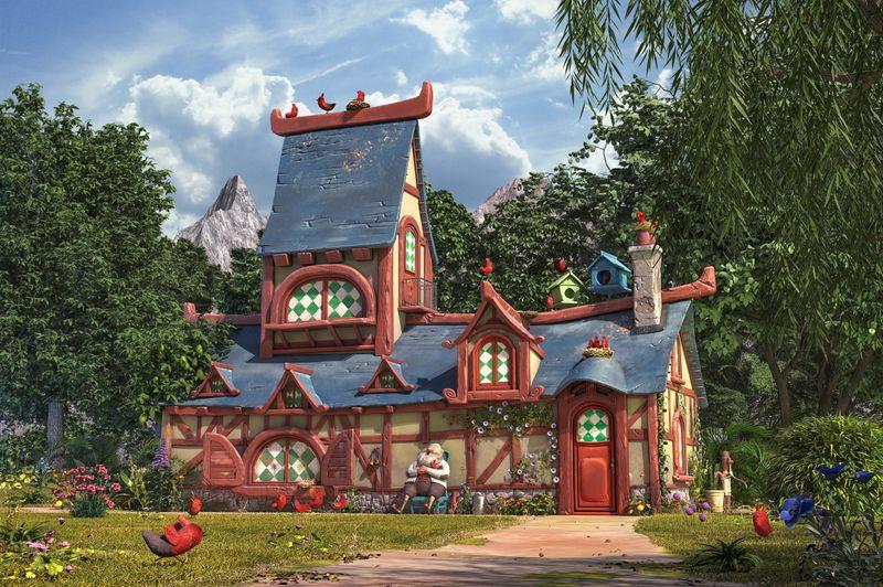 The bird house 3D version
