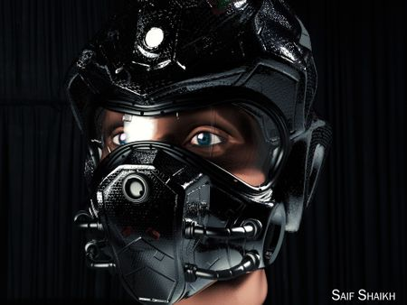 Sci fi helmet