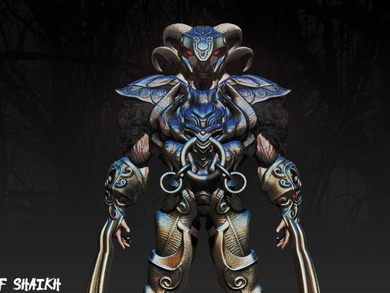 Goat got new armor