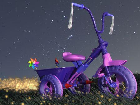 Fun Fair's Tricycle