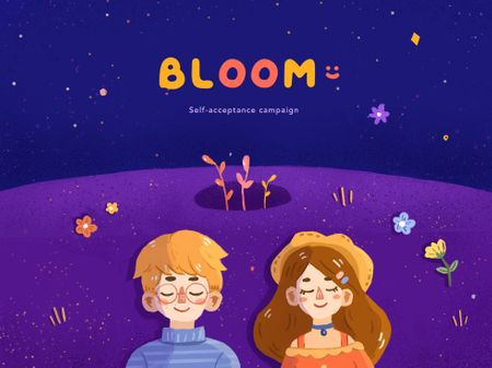 Bloom: Self-acceptance campaign ✿