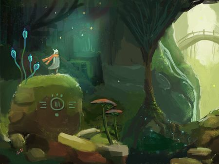 Wander Into the Woods: Game Art