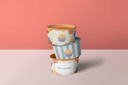 Healthy Ice Cream Branding