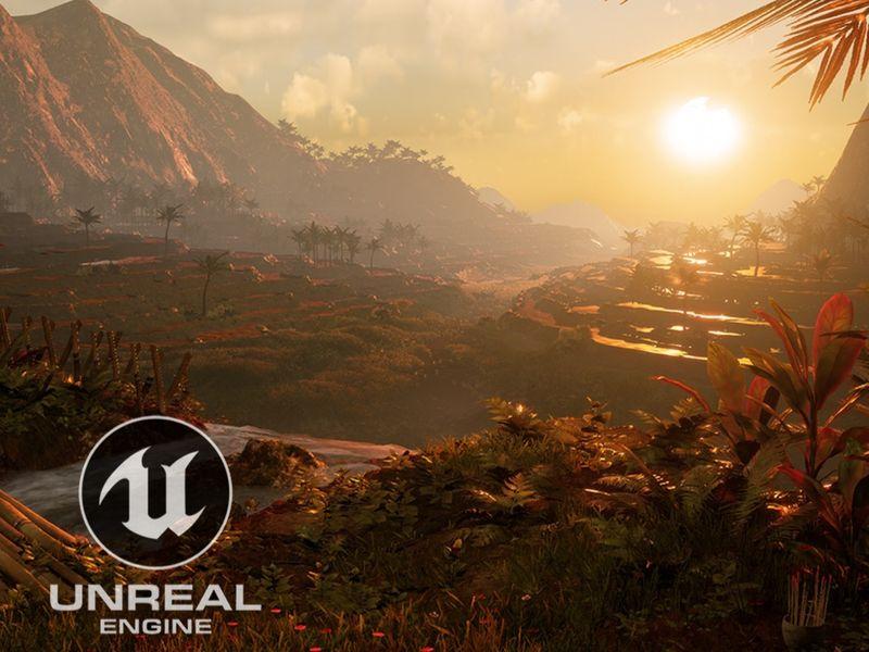 Rice Terraces [UE4]