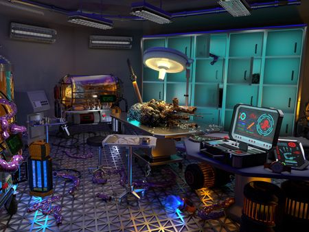 Sci-fi Laboratory Environment and more