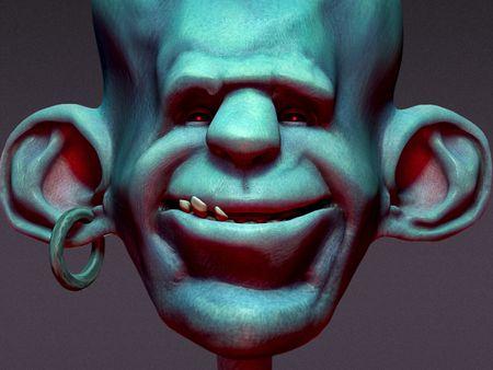 Stylized Head Study (I)