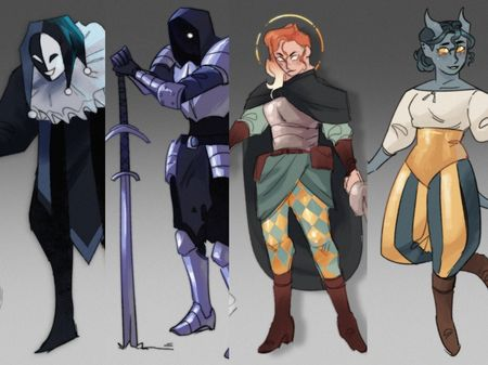 DnD Character Design Collection