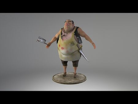 "Chef Character - ""Gang of New York"" series by Tomek Larek"