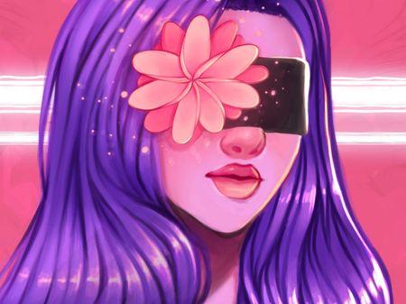 Blindfolded Flower