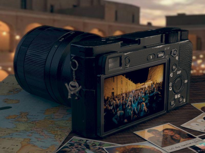 Sony a6300 Visualization.
