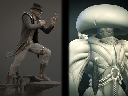 Armand Winchester & Mushroom Knight
