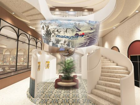 Malaysia Airlines: Co-Living Space Design