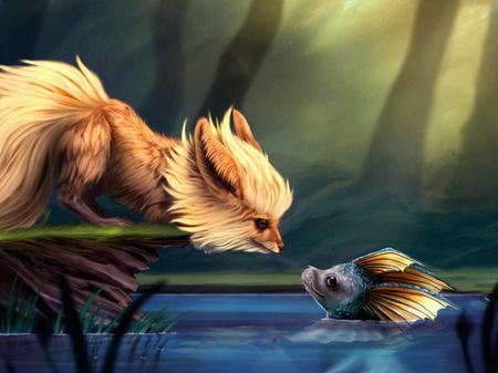 """A Remarkable Friendship"" - Pokemon Illustration"