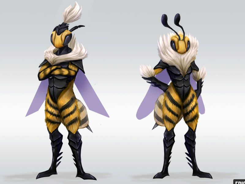 Fortnite Concept - Stinger Outfits & Weapon