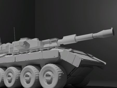 Video Game Vehicle Design : Obsidian Hellcat