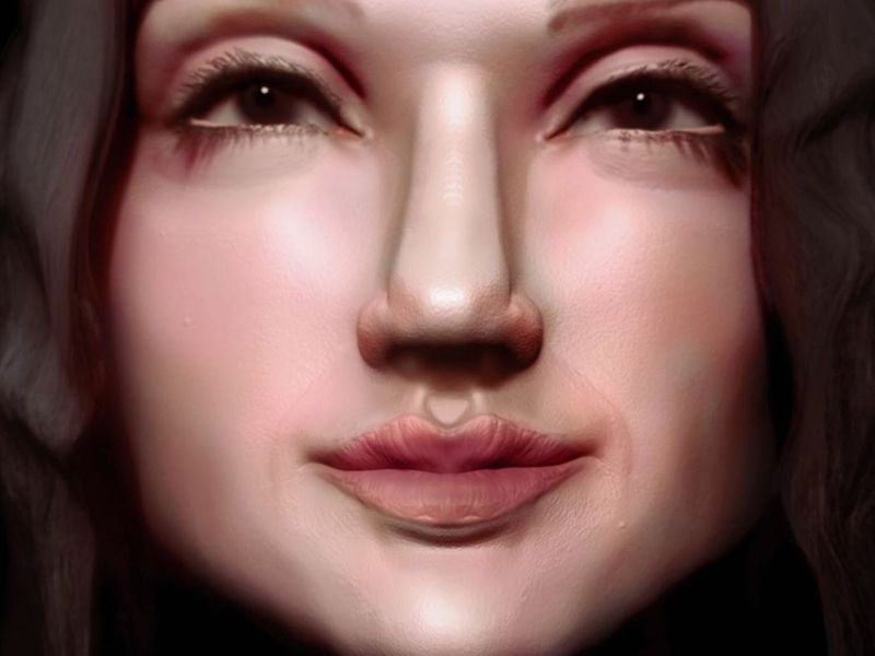 Gal Gadot Face Sculpt