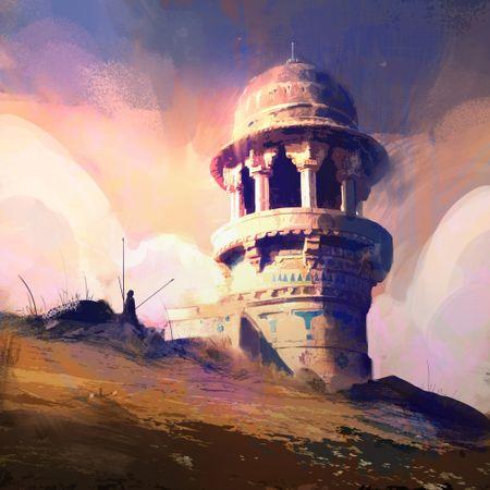 Minaret at Dusk