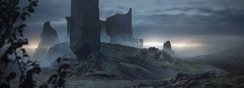 Elder Rockscape