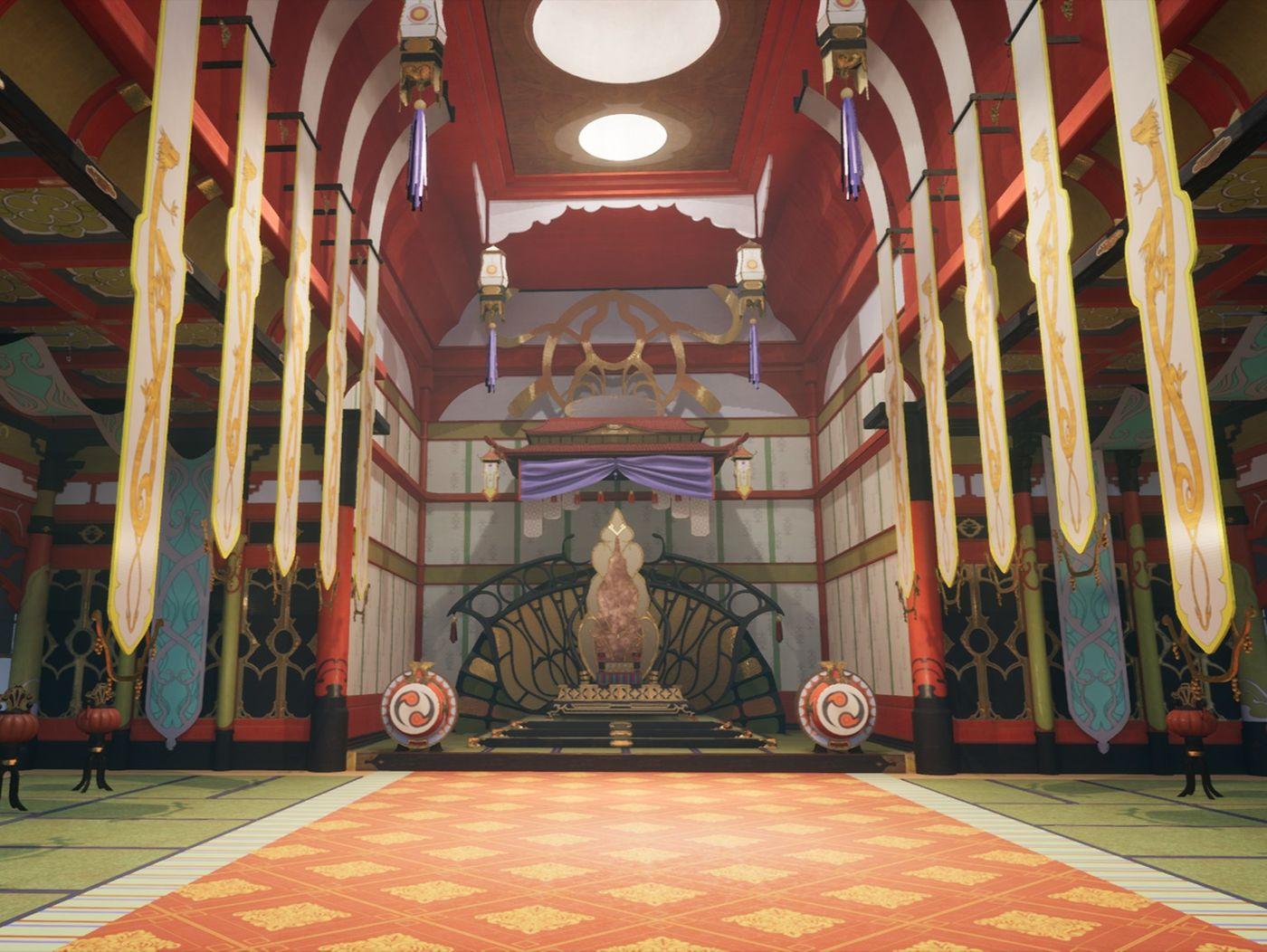 Hoshido Throne Room