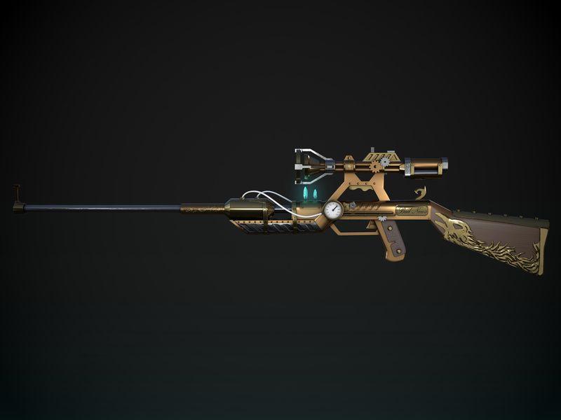 Bad News Steampunk Gun