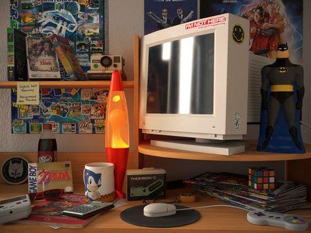 90s Desk