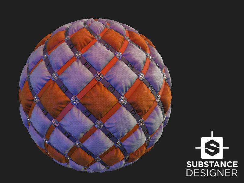 Substance Padded Sci-Fi Material