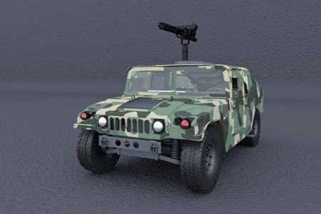 Humvee 3D