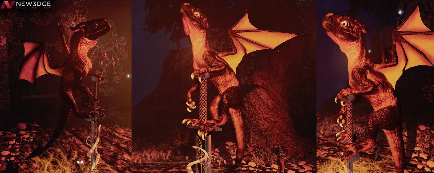 Silana Cadou Dragon Closeup